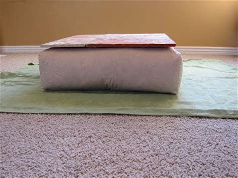 how to make an ottoman from scratch do it yourself divas diy ottoman build your own from