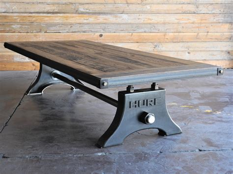 Glass Top Dining Room Sets hure coffee table by vintage industrial urban icon