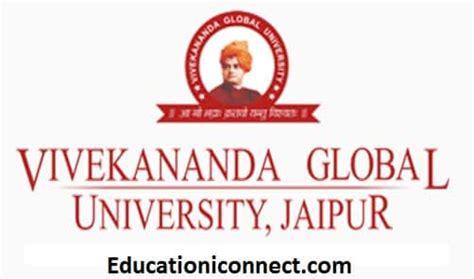 Bhavans Vivekananda College Mba Fee Structure by Vivekananda Global Fee Structure 2018 19