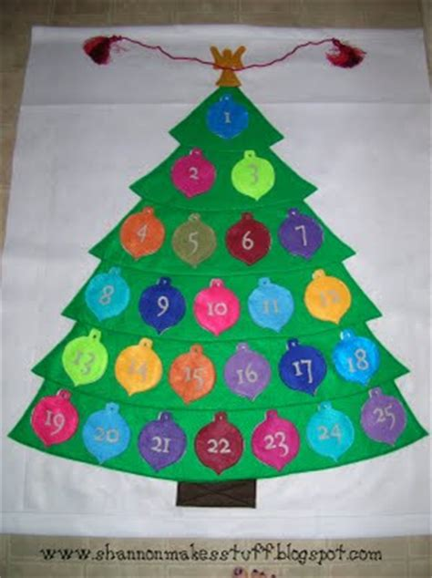 make your own felt advent calendar a simple felt advent calendar tutorial