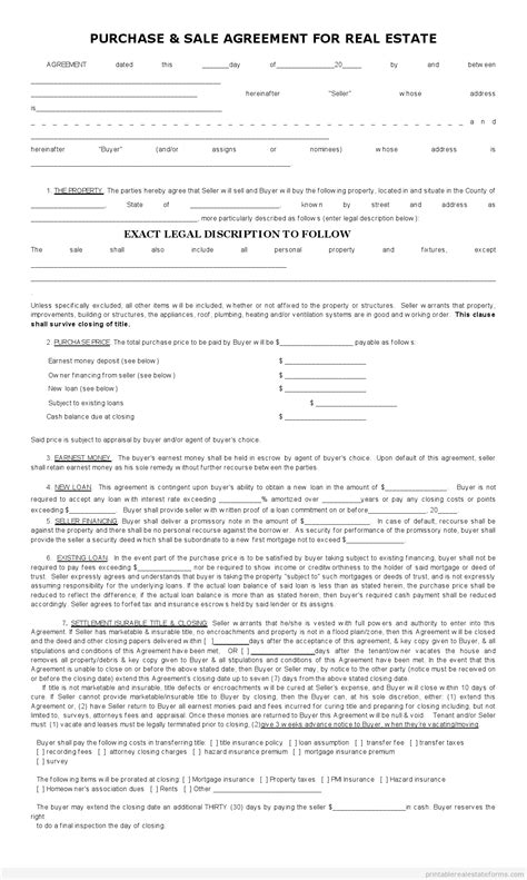 Subject To Contract Letter Sle Subject To Real Estate Contract Agreement Form Basic