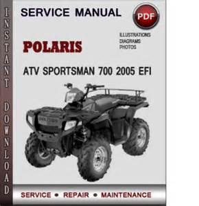 polaris atv sportsman 700 2005 efi factory service repair manual do
