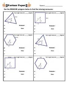 pics photos area of polygons worksheet