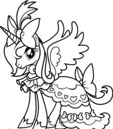 Coloring Pages 5963 Unicorn And Princess sketch template