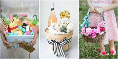 easter ideas 21 cute homemade easter basket ideas easter gifts for