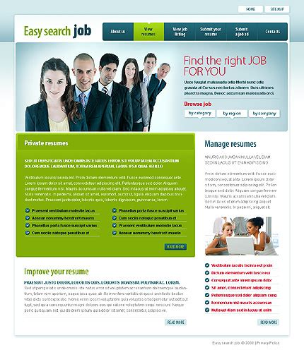 templates for recruitment website jobs in new york for college students job recruitment