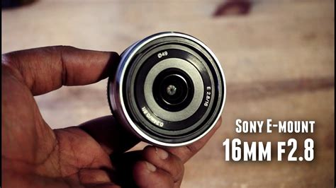 Sony Lens E 16mm F2 8 lens review sony e 16mm f2 8 pancake lens