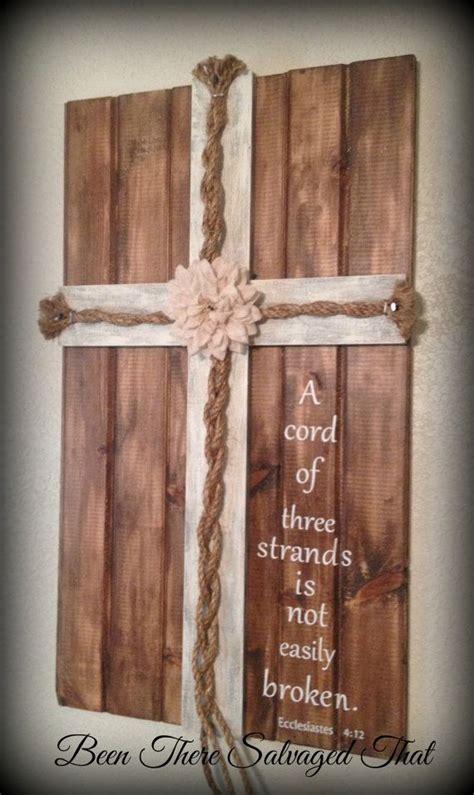Wedding Ceremony Unity Cross by Wedding Cross Unity Cords A Cord Of Three Strands