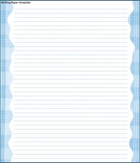free paper template printable writing paper free word s templates