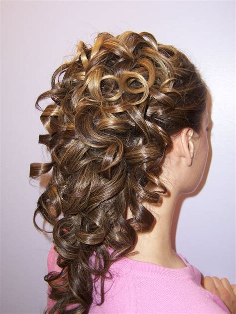 hairstyles cascading curls pinterest the world s catalog of ideas