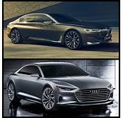 Photo Comparison Audi Prologue Concept Vs BMW Vision