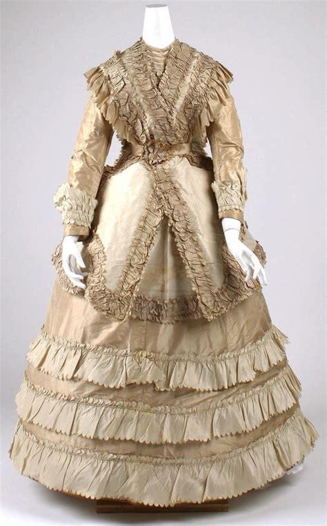 Dress Albi 2 Brown 1187 best 1850 1870 civil war crinoline haute couture