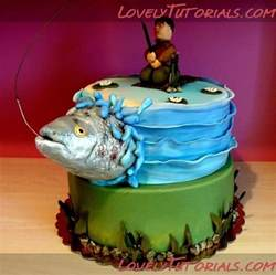 southern blue celebrations fishing cake ideas amp inspirations
