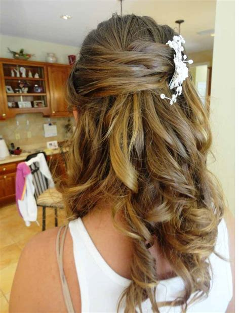 Half Up Half Wedding Hairstyles For Length Hair by Half Up Half Wedding Updos Hairstyles For Medium
