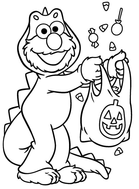 elmo halloween coloring pages print elmo halloween coloring page kids coloring page gallery