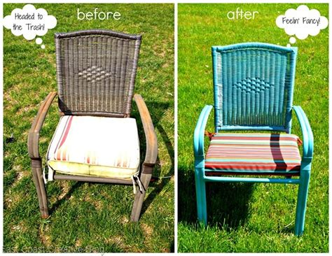 patio furniture update on a budget