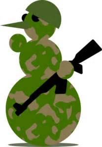 snowman military clip art  clkercom vector clip art  royalty  public domain