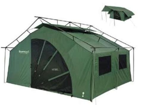 Cabin Style Tent by Eureka 2601892 Pine Lodge Outfitter Tent With Fly Awning