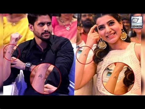 samantha tattoo naga chaitanya s