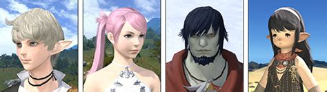 ffxiv change hair colour patch 2 5 notes preliminary final fantasy xiv the