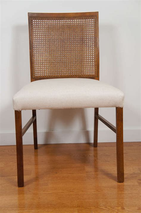 drexel heritage dining room chairs dining chair with caned back by drexel heritage at 1stdibs