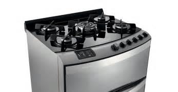 30 Cooktop Gas Fog 227 O Duplo Forno Top Glass Brastemp 5 Bocas Cor Inox Piso