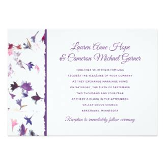 Petal Papers Wedding Invitations by Aster Invitations Announcements Zazzle Ca