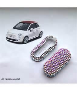 Fiat Key Covers Swarovski Fiat 500 Key Cover