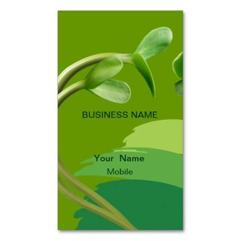 Green Card Template by Top 25 Ideas About Eco Green Business Card Templates On