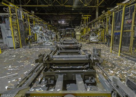 Ford Plant by St Ford Assembly Plant Abandoned Industrial