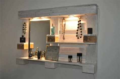 spiegelschrank selber bauen 1001 originelle palettenm 246 bel ideen zum selberbauen