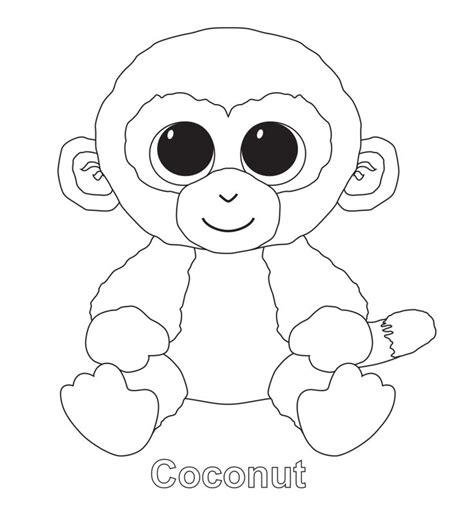 beanie babies coloring page 10 images about birthday party on pinterest ty beanie