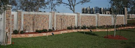 decorative concrete to enhance your home style all cinder block fence designs latest ideas