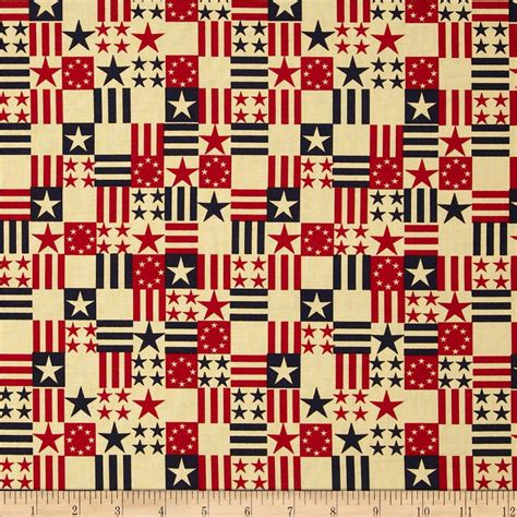printable flag fabric made in the usa antique flags red blue antique