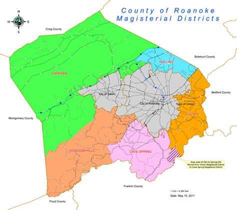 Roanoke County Records Roanoke Virginia Map My