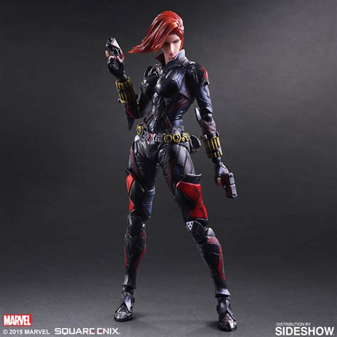 Jual Dc Universe marvel black widow variant collectible figure by square enix sideshow collectibles