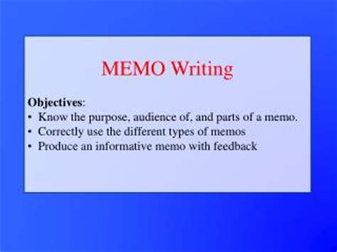 Memo Writing Ppt Ppt National Memo Powerpoint Presentation Id 7443907