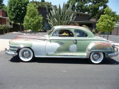 Chrysler 2 Door Coupe by 1948 Chysler 2 Door Club Coupe