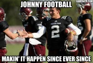 Johnny Football Meme - johnny manziel meme kappit