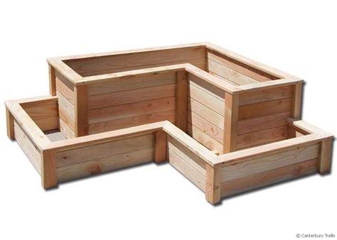 Corner Planter Boxes by Christchurch Canterbury Trellis Quality Trellis