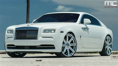 rolls royce custom mc customs rolls royce wraith 183 vellano wheels youtube