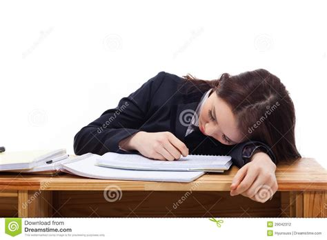sleeping on desk asian sleeping on the desk stock photography