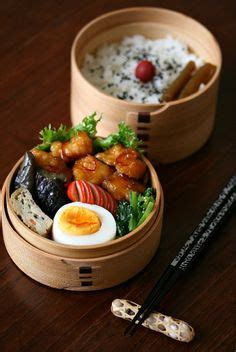 Bento Food Eggroll korean style lunch box rice with mixed grains korean