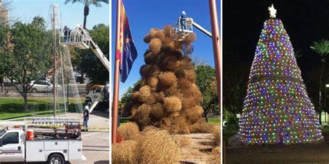 chandler set for annual tumbleweed christmas tree lighting
