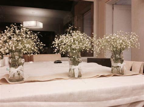 floreros con frascos de vidrio floreros con frascos de mermelada comunion pinterest