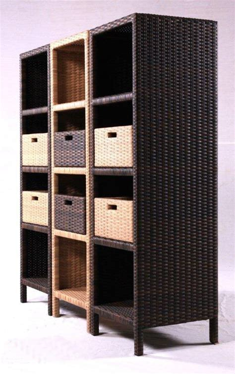 armadi in rattan da esterno salotti in rattan sintetico arredamento giardino sintetico