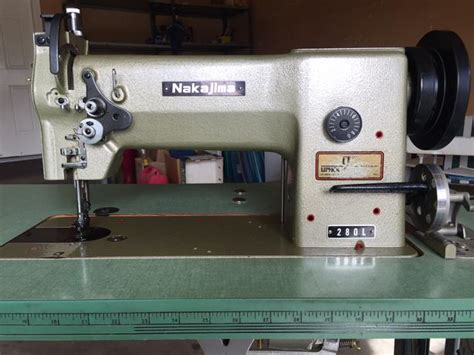 Waterloo Upholstery Nakajima 280l Upholstery Sewing Machine Other South