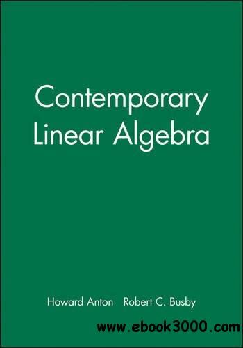 student solutions manual for thinking mathematically ebook contemporary linear algebra student solutions manual