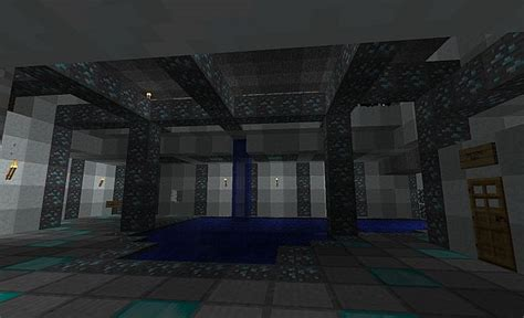 Secret Room Ideas Minecraft by Indoor Pool With Secret Treasure Room Minecraft