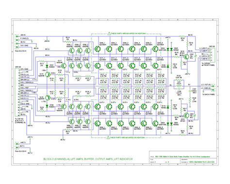 Power Sq Audio Class H fosti audio electronics project matrix 1 4 power lifier